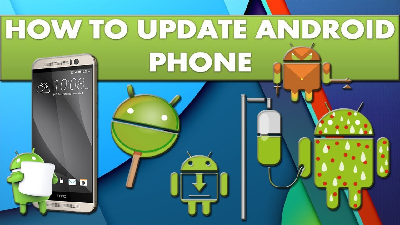 how to update android phone