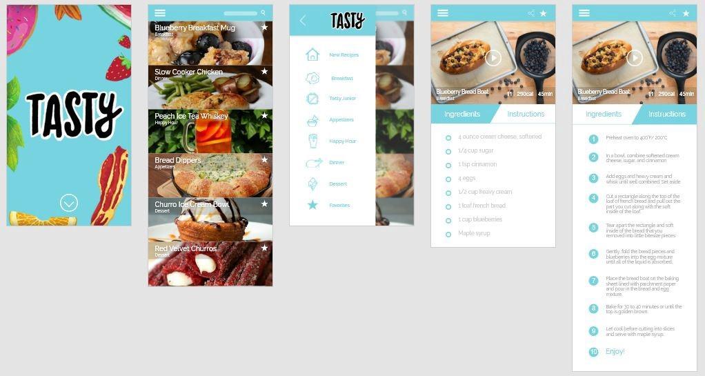 tasty iphone app