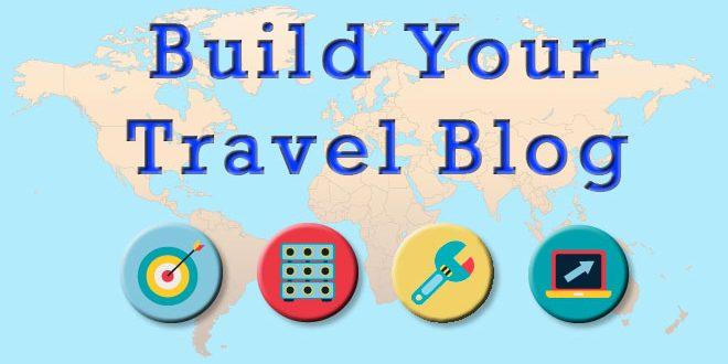 Create a travel blog website