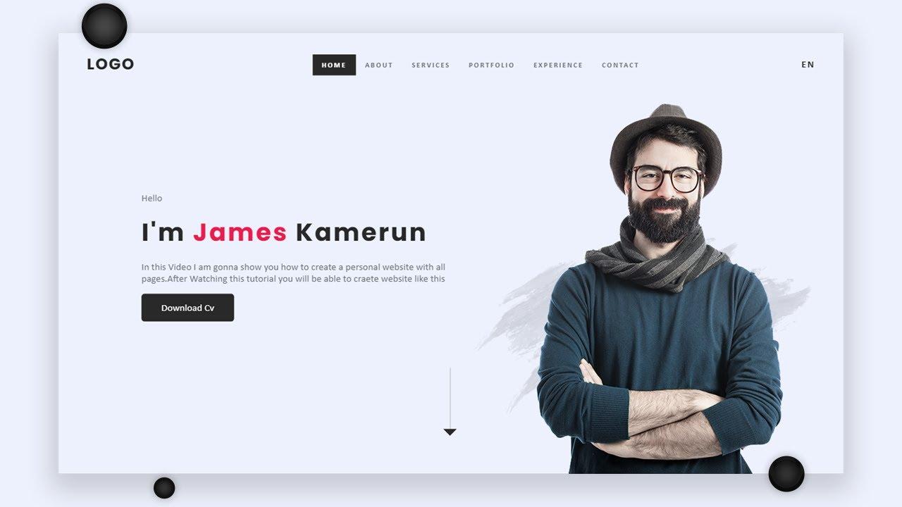 Create your own portfolio website